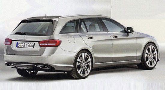 Mercedes C-Klasse Estate gelekt?