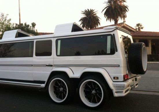 Mercedes G55 limo