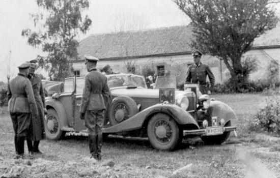 De Mercedes van Hermann Göring