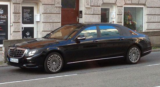 Mercedes S-Klasse, extra lang