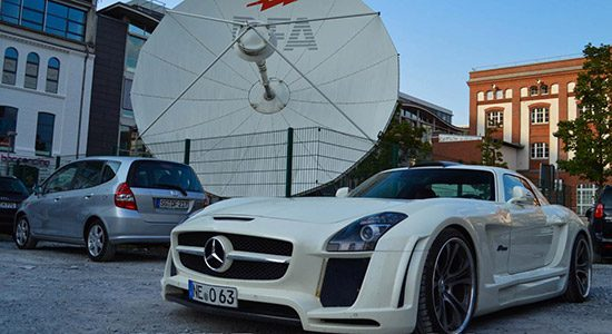 Mercedes SLS by FAB Design