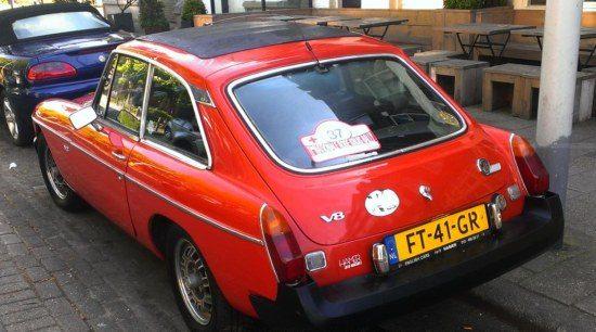 MG B V8