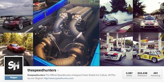 Speedhunters op Instagram