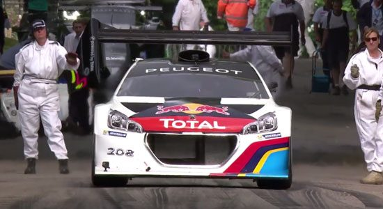 Peugeot 208 T16 Sebastien Loeb Goodwood 2014