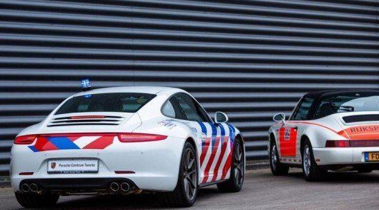 Politieauto's Nederland