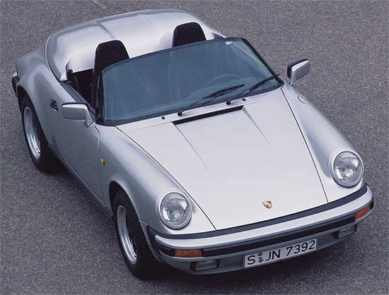 Porsche 911 Speedster narrow body