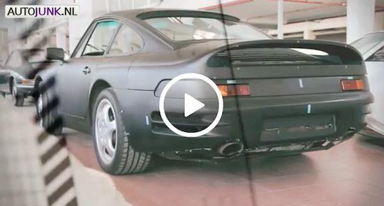 Porsche 911 Secrets: V8 concept
