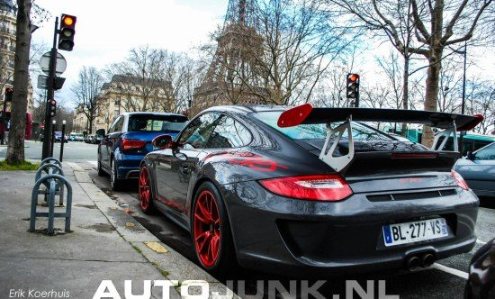 Porsche 911 GT3 RS in Parijs