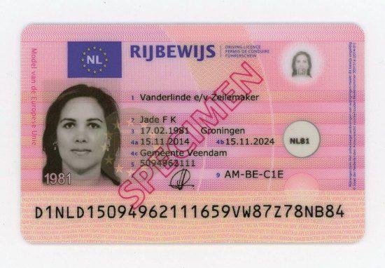 Rijbewijs per 14-11-14