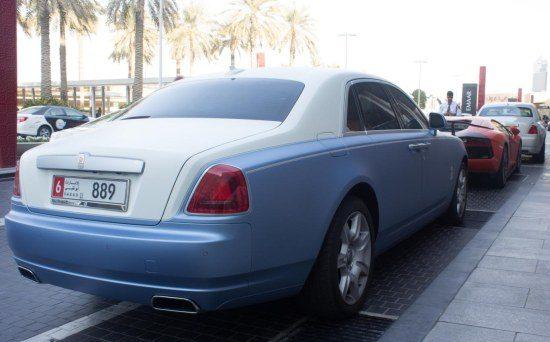 Rolls Royce combo met Lamborghini Aventador