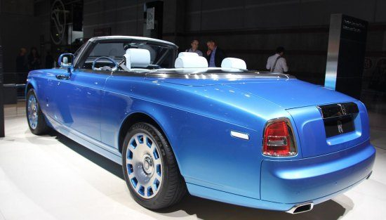 Rolls Royce Phantom Drophead Coupé Waterspeed Collection