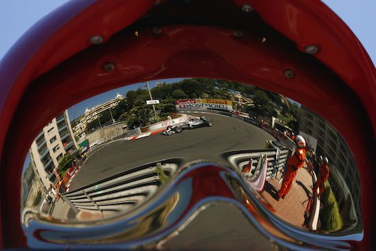 Mercedes F1-bolide