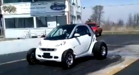 smart fowtwo big block dragster