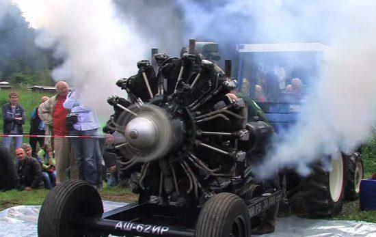 30-liter stermotor