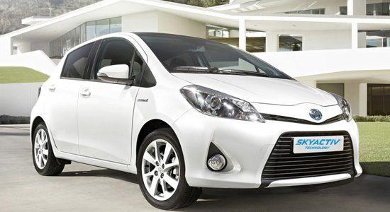 Toyota Yaris Skyactiv
