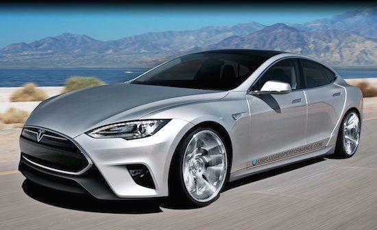 Tesla Model S krijgt nieuw smoelwerk aangemeten