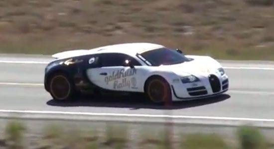 Bugatti Veyron doet 396 kilometer per uur