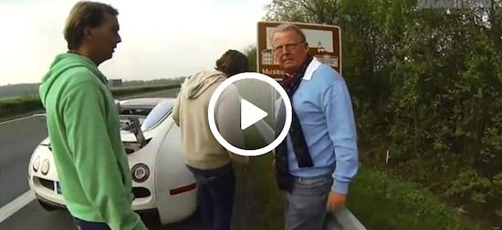 Video: Veyron vs Peugeot