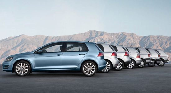 Volkswagen Golf 7 generaties