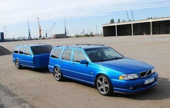 Koop een Volvo V70R met bijzondere aanhang