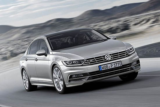 De nieuwe Volkswagen Passat B8