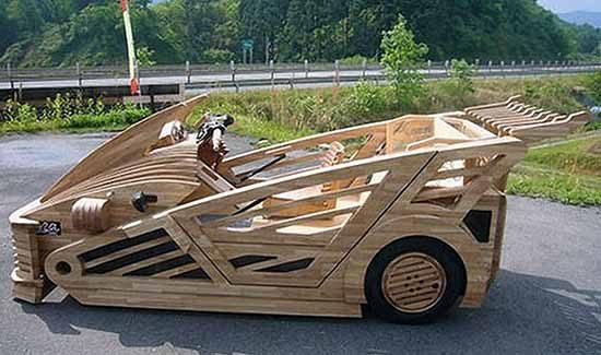 Houten supercar