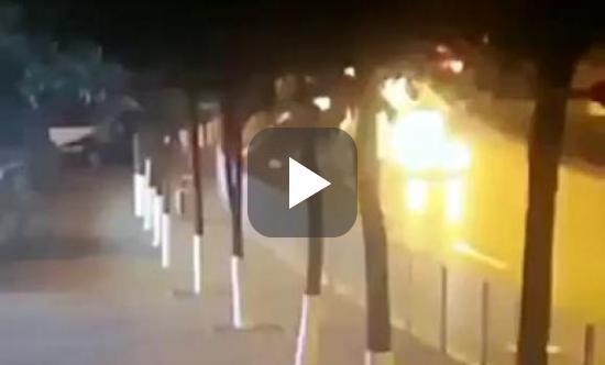Koenigsegg Agera R crash video