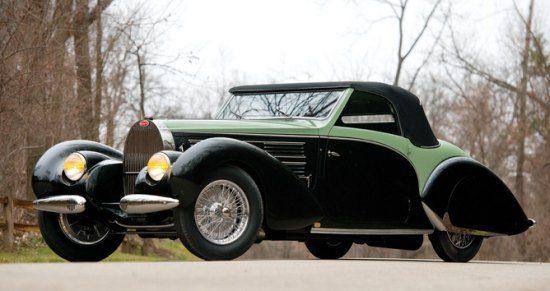 Bugatti Type 57C Aravis Cabriolet by Gangloff
