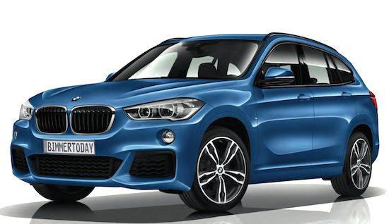 De nieuwe BMW X1 krijgt een M-Sportpakket
