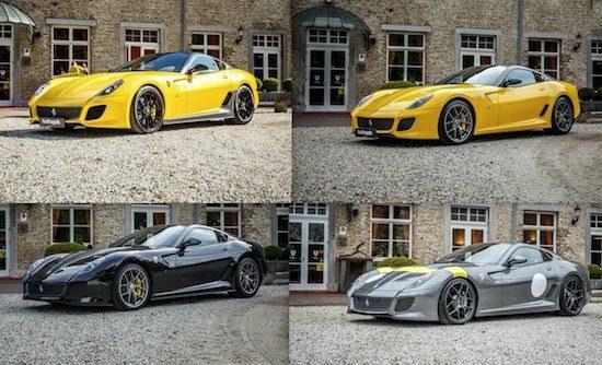 4x 599 GTO