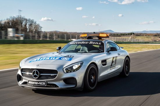 AMG GT S Safety Car