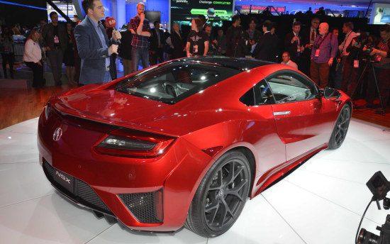 Acura NSX - dat ass
