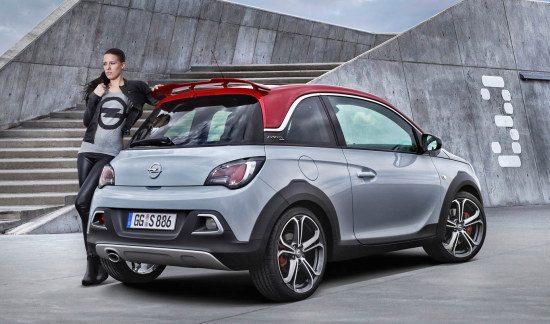Opel Adam S Rocks