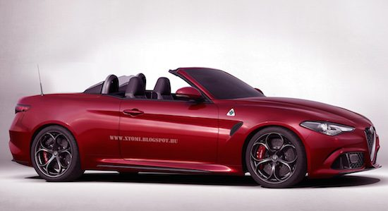 Photoshop madness: Alfa Romeo Giulia Spider