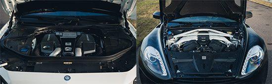 Mercedes S63 AMG Coupe vs Aston Martin Vanquish