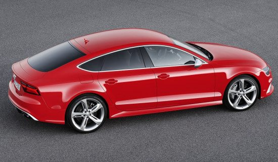 Audi RS7 facelift