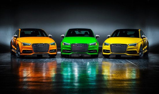 Audi S3 Exclusive Editions