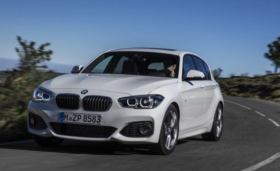 BMW 1 Serie F20 facelift