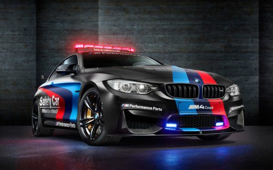 BMW M4 Safety Car is een duistere Duitser