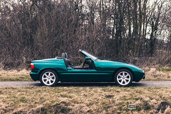 bmw z1 driving test and video allnews. Black Bedroom Furniture Sets. Home Design Ideas