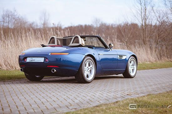 BMW Z8 classic rijtest en video