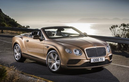 Bentley Continental GTC 2015