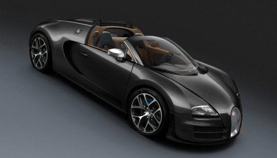 Bugatti Veyron Black Carbon