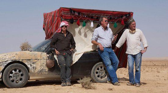 Er komt een nieuwe Top Gear Kerstspecial met Jeremy Clarkson