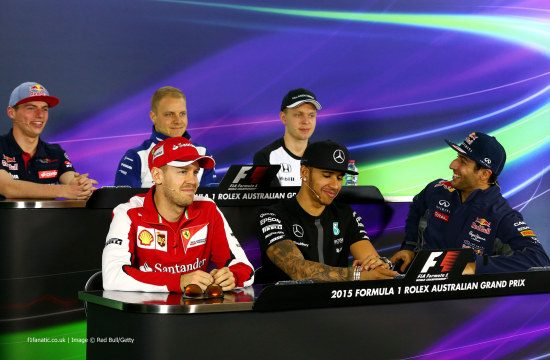 Verstappen, Vettel en de rest