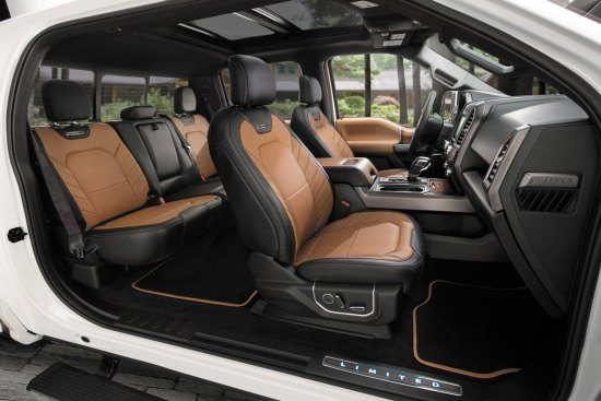 Ford F150 Limited interieur