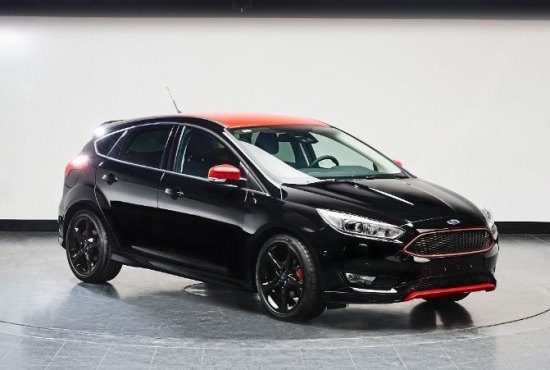 Ford Europa komt met de Focus Red en Black Edition