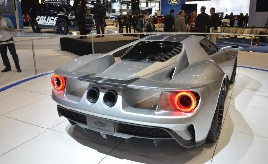 Ford GT in Liquid Silver