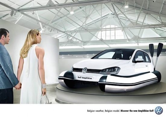 Volkswagen Golf Amphibian