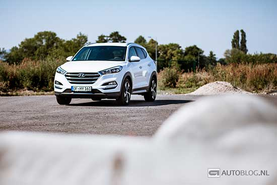 Hyundai Tucson 2015 rijtest en video